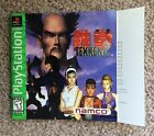 Please Read Only Instruction Manual for Tekken 2 Playstation 1 GH