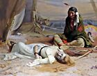 'The Captive' by E. Irving Couse. Fine Art Repro. Made in U.S.A Giclee Prints