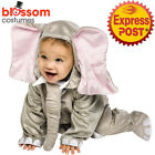 CK1104 Infant Cuddly Elephant Animal Costume Baby Jumpsuit Halloween Outfit