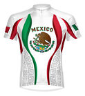 Primal Wear Mexico Cycling jersey Men's Short Sleeve Mexican Flag bike bicycle