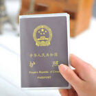 1x Transparent Clear Passport Cover Holder Case Organizer ID Card Tour Protector