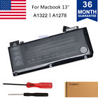 """Lot 1-10 A1322 Battery for Apple Macbook Pro 13"""" A1278 Mid 2012 2010 2009 E 2011"""