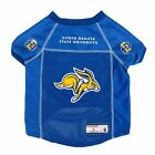 NEW SOUTH DAKOTA STATE JACKRABBITS DOG PET PREMIUM JERSEY w/NAME TAG LE