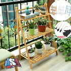 Flower Pot Plant Stand 3 Tier Flower Planter Rack Shelf Shelves Organizer Garden