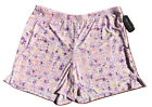Ambrielle Easy Knit Sleep Shorts Size S, M, L California Grape Msrp $22.00