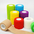 Self-adhesive Sport Bandage Elastic Wraps First Aid Gauze Colorful Medical Tapes $2.65 USD on eBay