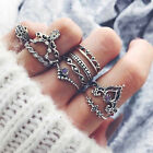Retro 1 Set Midi Ring Boho Fingertip Ring Upper Link Ring Anklet