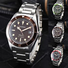 41mm Parnis Sapphire 21 Jewels Miyota Automatic Men's Mechanical Casual Watch