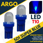 501 Led Blue Sidelight T10 W5w 194 168 Ice Car Interior Xenon Side Light Bulbs