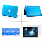 """Rubberized Hard Case Cover For Macbook Air 13"""" Keyboard Skin Screen Protector"""