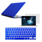 "Rubberized Hard Case Cover For Macbook Air 13"" Keyboard Skin Screen Protector"