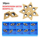 10pcs Multi Types CNC Carbide Tips Inserts Blade Cutter Lathe Turning Tool hon