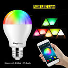 E27E26 Bluetooth Control Smart Music Audio Speaker LED RGB Color Bulb Light Lamp