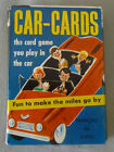 Vintage Canadian Russell Car-Cards Playing Card Game in Box