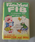 Vintage Canadian Russell Farm Yard FIB Playing Card Game in Box