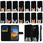 For Samsung Galaxy S7 Active G891 Cat Slim Wallet Pouch Case Cover + Pen