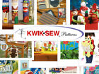 Sew & Make Kwik Sew SEWING PATTERNS - Craft Toy Christmas Pet Home Decor Pillows