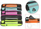 Unisex Portable Waist Bum Bag Jogging Cycling with Cable Pocket Packs Neoprene