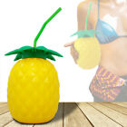 Pineapple Cocktail Party Drinks Bottle Juice Cups Container Tropical Tableware