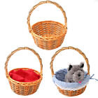 WICKER BASKET WITH ACCESSORIES CHOOSE DOROTHY TOTO LITTLE RED RIDING HOOD PROP
