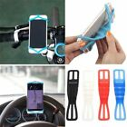 SILICONE BIKE CAR STEERING WHEEL MOUNT HOLDER BAND FOR SAMSUNG J3 J5 J7 PRIME A3