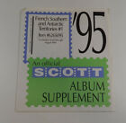 Scott French souther and Antartic Territories #1 1995 Item Stamp Album Pages