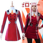 Darling in the Franxx ZERO TWO CODE:002 Cosplay Costume Complete Outfit Headwear