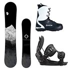 NEW 2018 System MTN and Flow Bindings + Boots Men's Complete Snowboard Package