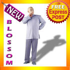 C202 Mens Austin Powers Dr. Evil Deluxe Adult Halloween Fancy Dress Costume