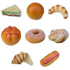 Realistic Artificial Food Fake Bread Cake Bakery Display Kitchen Food Model Pick