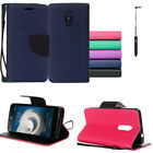 Phone Case For ZTE Zmax One LTE Z719DL PU-Leather Wallet Cover with Stylus