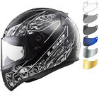 LS2 FF353 Rapid Crypt Motorcycle Helmet & Visor Bike Crash Full Face Vented ECE