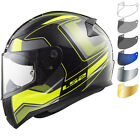 LS2 FF353 Rapid Carrera Motorcycle Helmet & Visor Motorbike Bike Crash Vented