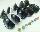 HOT Unisex NOOSA Sunglasses for Sports Button glasses gift wholesale