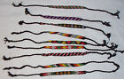 tie on bead WRISTBAND friendship bracelet hippy boho surfer band 7mm thin Lot