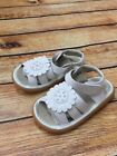 squeaky leather - Squeaky Shoes New White Sandal Girls Toddler  with Crystals 1033