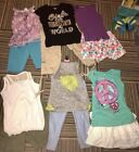 Girls 12 Piece Summer Lot Toos Shorts 10 12 Justice