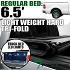 "TRI-FOLD HARD TONNEAU COVER LW+16X LED LIGHTS 06-08 LINCOLN MARK LT 6.5'/78"" BED"