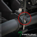 """TEXTURE BLK 1.25"""" TUBE BAR ROLL CAGE MOUNT BRACKET CLAMPS FOR LED LIGHT FRC T56"""