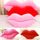 30/50cm Sexy Lips Shape Plush Waist Throw Pillow Cushion Bedroom Sofa Auto Decor