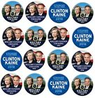 HILLARY CLINTON KAINE  2016 WHOLESALE Campaign Buttons Lot Of 50 FREE SHIPPING