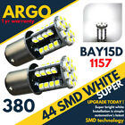 Bright White 44 Smd Led 380 P21/5w 1157 Brake Stop Fog Reverse Bulbs Bay15d 12v
