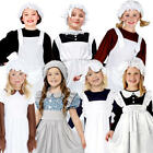 Victorian Poor Girls Fancy Dress Childrens World Book Day Character Kids Costume