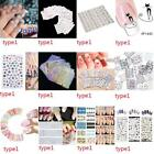 Multi Patterns Acrylic UV Gel Nail Art Sticker DIY Tips Decoration B20E
