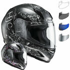HJC CL-Y Vela Ladies Motorcycle Helmet & Visor Motorbike Full Face Smoked Tint