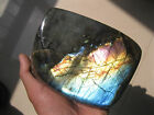 2.93lb   Natural Labradorite Crystal Rough Rock Polished From Madagasca L060
