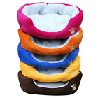 Small Soft Fleece Puppy Pets Dog Cat Bed House Basket Mat Basket Cushion Rug