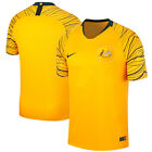 Nike Australia WC World Cup 2018 Home Soccer Jersey Gold  - Black ( Yellow)  image