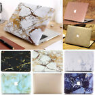 """Silky Leather Gold/ Marble Matte Hard Case for MacBook Pro 15"""" A1286 (2008-2012)"""