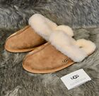 UGG Australia Scuffette II Women's Sheepskin Slippers 5661 Chestnut Brown NIB